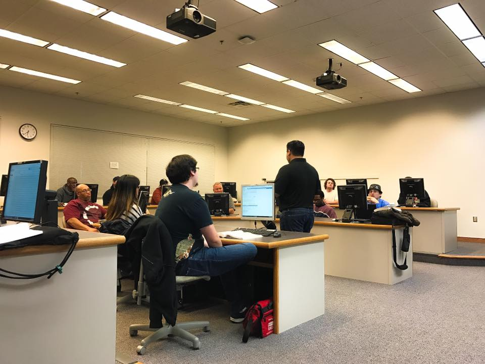 StratasCorp Technologies Speaks with Tidewater Community College Cyber Program
